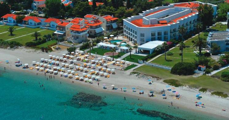 Sea holiday in Greece all Inclusive hotels by car at Chalkidiki, Olympian Riviera summer 2020
