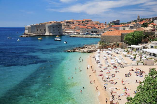 Sea holiday and vacation all inclusive in Dubrovnik Croatia - Adriatic coast of Slovenia