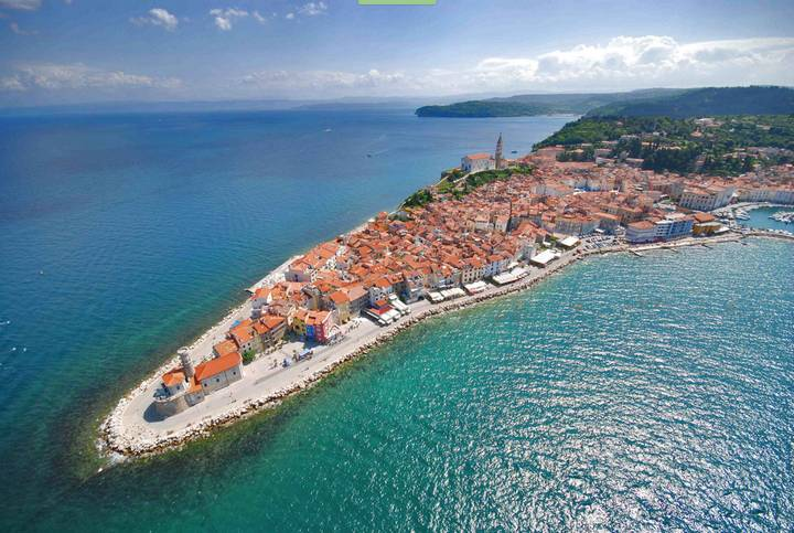 Sea holidays in Slovenia and Istria region of Croatia
