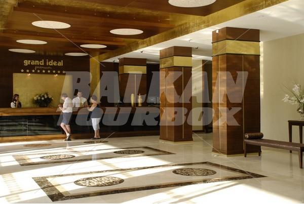 Hotel grand ideal premium 5 holiday in turkey for Big box hotel bomonti