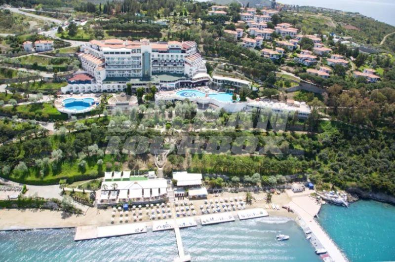 ������� � ������ - ����� E����� ������� � �������� �� all inclusive, ����� ������� �� ����, booking sea holiday in Turkey, hotel �phesus Princess  Kusadasi, sights, beach and coast, ����� � �������� � ������, ������ ����� �� ����, all inclusive